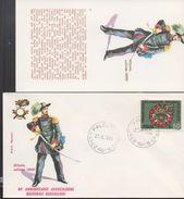 3179  FDC + Postal ,  Italia  1974  Uniformes Militares,  Palestro - Militaria