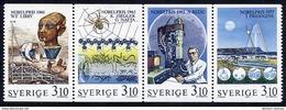 SWEDEN 1988 Nobel Chemistry Prize  MNH / **.  Michel 1516-19 - Unused Stamps