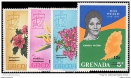 Grenada, 1972, SG 497 - 500, Complete Set Of 4, MNH - Grenada (...-1974)