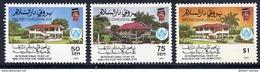 BRUNEI 1987 Shelter For The Homeless MNH / **.  SG 418-20 - Brunei (1984-...)