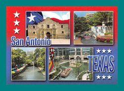 USA Sant Antonio ( Multivues, Texas, Fort Alamo ) - San Antonio