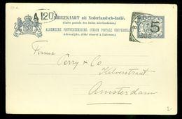NEDERLANDS-INDIE * HANDGESCHREVEN BRIEFKAART Uit 1908 Gelopen Van BANDOENG TJINJIROEWAN Naar AMSTERDAM (10.653j) - Nederlands-Indië