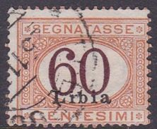 Italy-Colonies And Territories-Libya PD 11 1925 Postage Due, 60c Orange And Brown, Used - Libya