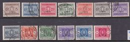 Italy-Colonies And Territories-Libya PD 12-24 1934 Postage Due, Used Set - Libya