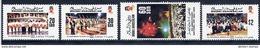 BRUNEI 1989 National Day Anniversary  MNH / **.  SG 451-54 - Brunei (1984-...)