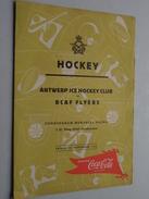 IJSHOCKEY ( O.a. Antwerp Ice Hockey Club - BRABO Kendall Oil - ) Verzameling Foto's + Docu Anno 1940-50 ( HOCKEY ) ! - Sport