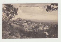 ROCCA DI CAMBIO (L'AQUILA) - PANORAMA - VIAGGIATA 1933 - BOLLO STACCATO - ITALY POSTCARD - L'Aquila