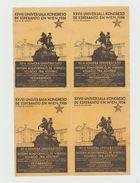 ESPERANTO - 1936 - WIEN - VIENNE - Kongreso De Esperanto - Sans Gomme - Organisaties