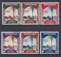 Italy-Colonies And Territories-Tripolitania S94-99 1934 2nd International Colonial Art Fair, Used Set - Tripolitania