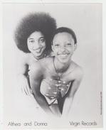 PHOTO PRESSE 18X24 / ALTHEA AND DONNA - REGGAE JAMAÏQUE - Célébrités
