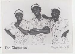 PHOTO PRESSE 18X24 / THE DIAMONDS - REGGAE JAMAÏQUE - Célébrités
