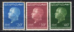 TUNISIA - 1962 - EFFIGIE DEL PRESIDENTE HABIB BOURGUIBA - USATI - Tunisia (1956-...)