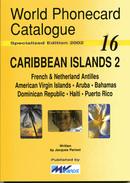 WORLD PHONECARD CATALOGUE-16-CARRIBEAN ISLANDS 2 - Télécartes