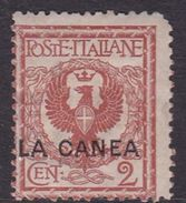 Italy-Italian Offices Abroad-La Canea  S4 1905  2c Red Brown, Mint Hinged - La Canea