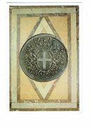 Double Cpm - OEUVRES DE L'ORDRE DE MALTE - Pièce D'Argent De 2 écus,agrandie,frappée En 1796 - Monnaie - Monnaies (représentations)