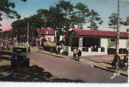 Sion-sur-l'Océan Saint-Hilaire-de-Riez Animée La Forêt Café Voitures Tacot - Autres Communes