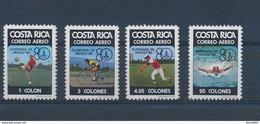 Olympics 1980 - Soccer - COSTA RICA - Set MNH - Zomer 1980: Moskou
