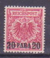 65-613 / D. POST In Der TURKEI 1889   Krone/Adler   Mi 7 ** (postfr.) Mint ! - Ufficio: Turchia