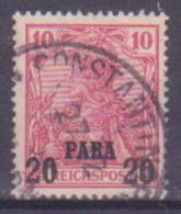 65-626 / D. POST In Der TURKEI - 1900/04   Reichspost   Mi 13 I  O - Ufficio: Turchia