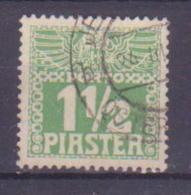 65-751 // LEVANTE  - 1908   PORTO   1,1/2 Piaster   Mi 9 X /a O - Oriente Austriaco