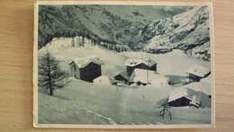 ITALIA VAL D'AOSTA CARTOLINA DA VALTOURNANCHE AOSTA FORMATO GRANDE VIAGGIATA - Aosta