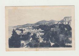 CASAMICCIOLA (NAPOLI)- GOLFO E PANORAMA - VIAGGIATA 1931 - BOLLO STACCATO - POSTCARD - Napoli