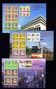 Hong Kong 1997 Stamp Exhibition Series 7-9 MNH -(V-31) - Art
