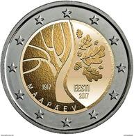 Estonia  2 EURO -  2017 - Independência   - UNC - Estonie