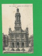 FRANCE PARIS Eglise De La Trinite - Eglises