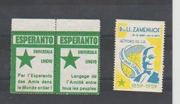 ESPERANTO - 3 VIGNETTES - - Organizaciones