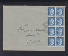 Dt. Reich Brief 1942 Breslau Nach Lorch - Germania