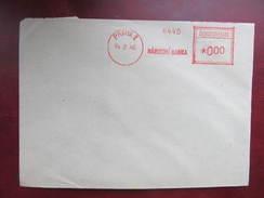 BRIEF Praha 1 Narodni Banka 1946 Frankotype Freistempel Postfreistempel /// N3032 - Briefe U. Dokumente