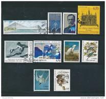 France   Timbres  De 1995  N°2923 A 2932   Timbres Oblitérés - Usati