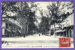 1345 - CAHORS - LE BOULEVARD GAMBETTA (NORD) - Cahors
