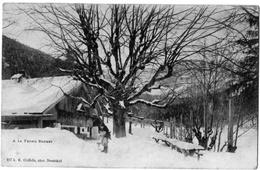 Noiraigne Neufchatel Ferme Robert Neige Dos Non Divisé 1902 Très Bon état - NE Neuchâtel