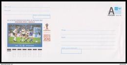 RUSSIA 2017 ENTIER COVER 089 Mint WC-2018 FOOTBALL SOCCER ITALY FINAL 1990 GERMANY Rudolf Völle ARGENTINA Maradona SPORT - 2018 – Russia