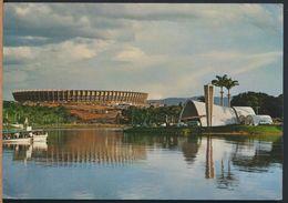 °°° 8238 - BRASIL - BELO HORIZONTE - VISTA DA REPRESA PAMPULHA - 1971 With Stamps °°° - Belo Horizonte