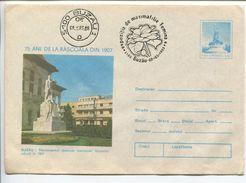 Buzau - Uprising Of 1907 Monument - Stationery (stamp : Original Stamp) - Entiers Postaux