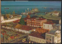 °°° 8242 - BRASIL - MANAUS - VISTA PARCIAL DO PORTO - 1981 With Stamps Bolivia °°° - Manaus