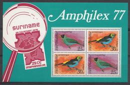 Surinam 1977 Mi.nr.:Block 19 Vögel  Neuf Sans Charniere / MNH / Postfris - Suriname