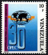 VENEZUELA 1995 MNH Stamp OPEC - OPEP Gaz - Oil - Iran Petrole Öl Petróleo Energía Energy Energie Petrolio - Aardolie