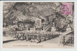 SAINT MAXIMIN - VAR - LA SAINTE BAUME - INTERIEUR DE LA GROTTE - Saint-Maximin-la-Sainte-Baume
