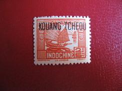 KOUANG TCHEOU Fr.     1937   (**)  Y&T N° 98-99-100-103 - Unused Stamps