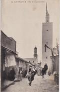 Maroc - - Lot De 2 CPA  Casablanca Rue Du Capitaine Ihler + Caserne Du 1er Zouave .   . Voir 2 SCANS - Casablanca