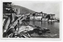 BASTIA - LE VIEUX PORT EN 1947 - Ed. D' ART J. MORETTI A BASTIA - FORMAT CPA VOYAGEE - Bastia