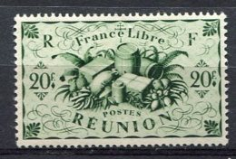 REUNION - Yv. N°  246  *  20f Cote  2,1 Euro   BE  2 Scans - Réunion (1852-1975)