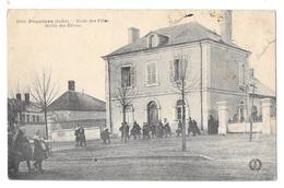 (16872-36) Pruniers - Ecole Des Filles - Sortie Des Elèves - Sonstige Gemeinden