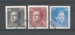 Sweden 1985 King & Queen Definitives  Y.T. 1301/1303 (0) - Sweden