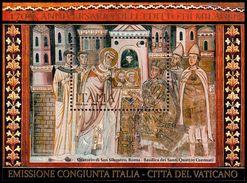 Italia / Italy 2013: Foglietto Editto Di Milano (congiunta Vaticano) / Edict Of Milan S/S (joint Issue With Vatican) ** - Joint Issues