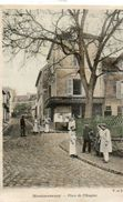 CPA - MONTMORENCY (95) - Aspect De La Boucherie De La Place De L'Hospice En 1905 - Montmorency